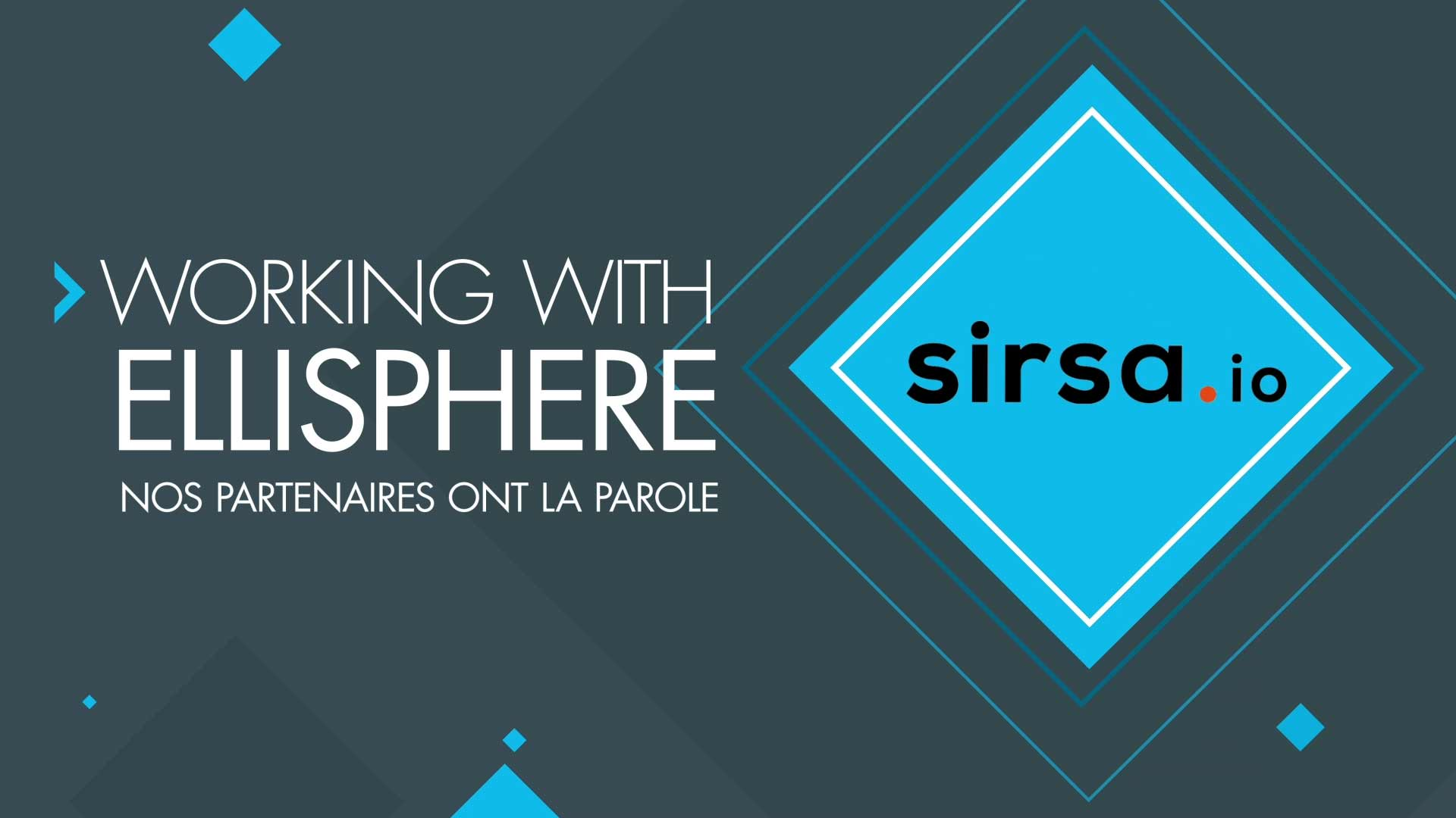 Working with Ellisphere Sirsa
